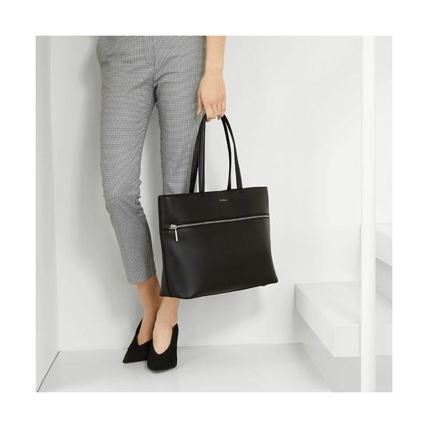 25dc33b237 Tote τσάντα City μαύρη - Sisbags.gr