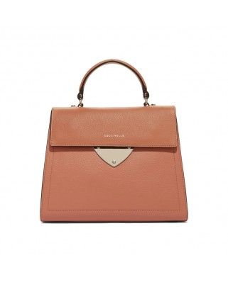 B14 argile Leather Satchel Bag