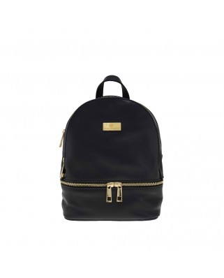 Amelie Leather Backpack black