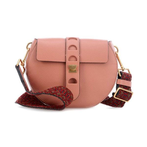 Carousel leather bag
