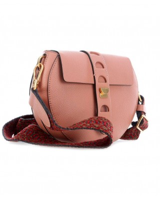 Carousel leather bag