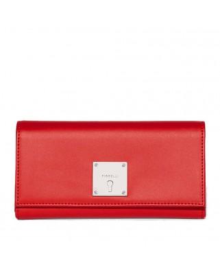 Γυναικείο πορτοφόλι Dorchester Pillar Box κόκκινο