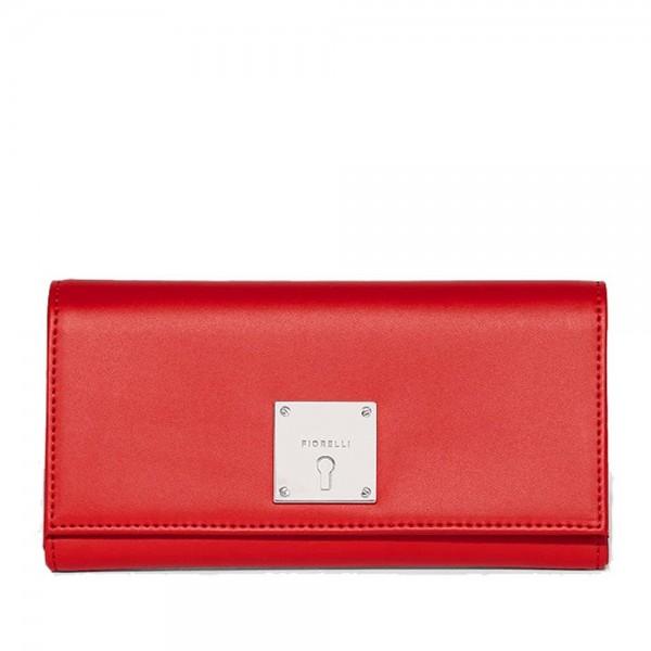 Γυναικείο πορτοφόλι Dorchester Pillar Box κόκκινο - Sisbags.gr 089b0df9185