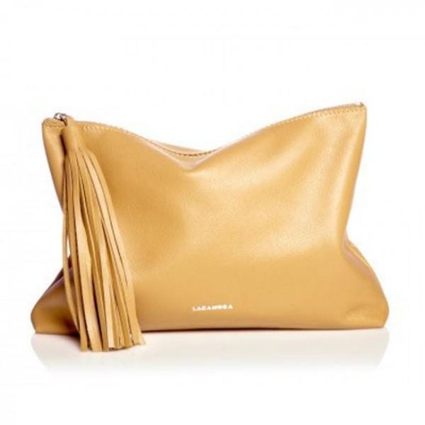 Δερμάτινη Τσάντα Tassel Clutch