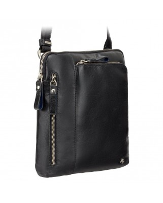 Roy (M) - Messenger Bag A5 Black