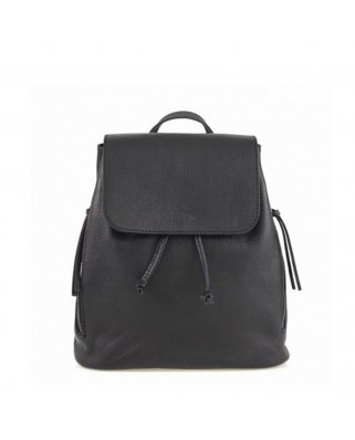 Zelinda Leather Backpack black