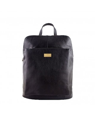 Patrizia Leather Backpack black