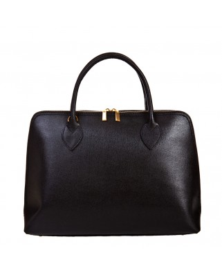 Iliana Leather Handbag Black