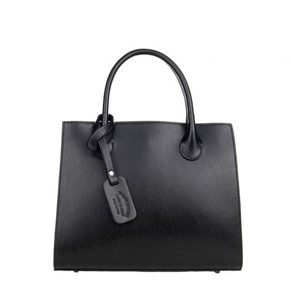 Kate Leather Handbag Black