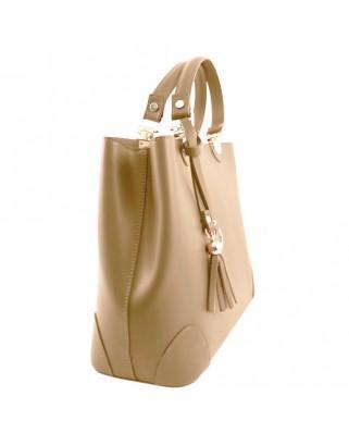 Δερμάτινη τσάντα ώμου χειρός Maya
