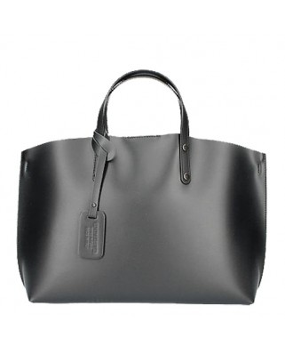 Casilda Leather Handbag black
