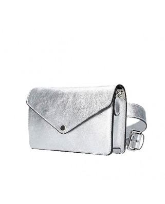 Δερμάτινη τσάντα ώμου Nuria