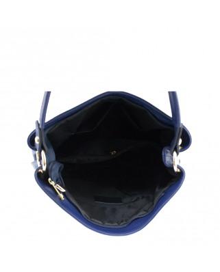 82db8742d5 ... ώμου Dania μπλε Δερμάτινη τσάντα ...