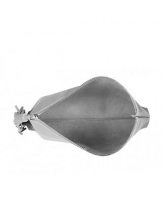 Tassel Clutch Grey