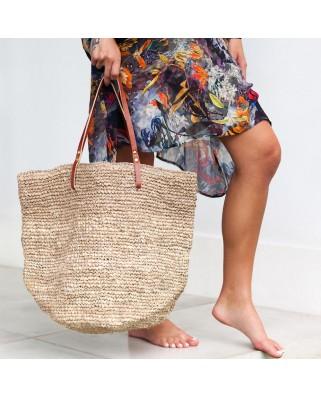The Straw Beach Bag Sand