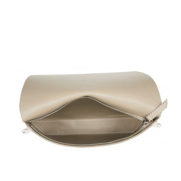 Capote Ana Leather bag camel/beize