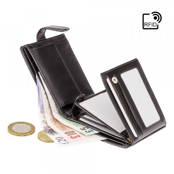 Rome Cash & Coin Wallet black