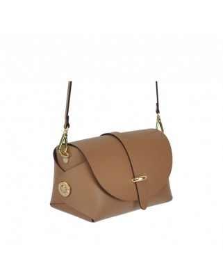 Leather Barel Praline