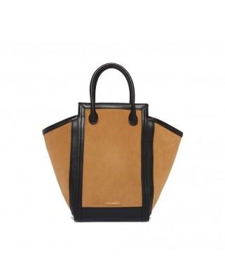 Suede Handbag Madelaine camel