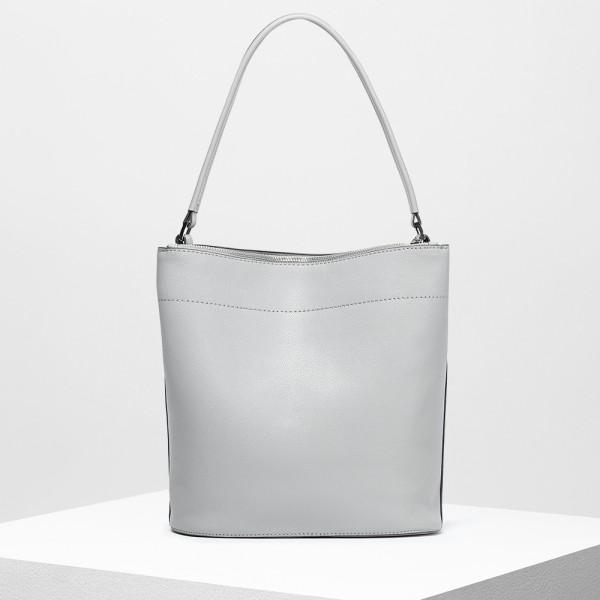 Clemmie Shoulder Bag Steel