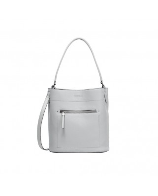 Clemmie Shoulder Bag Steel