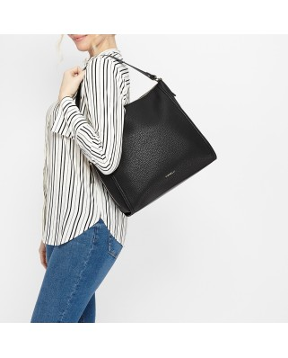 Lisa Shoulder Bag Black