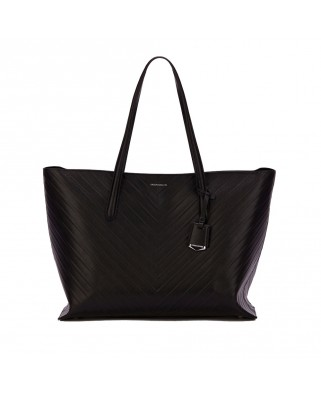 Leather Tote Bag Ashbury Black