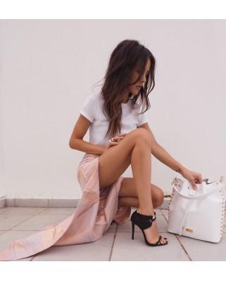 Δερμάτινη τσάντα ώμου Graziella