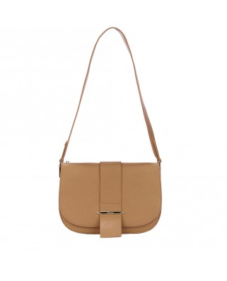 Manhattan Maxi Crossbody Bag Νatural