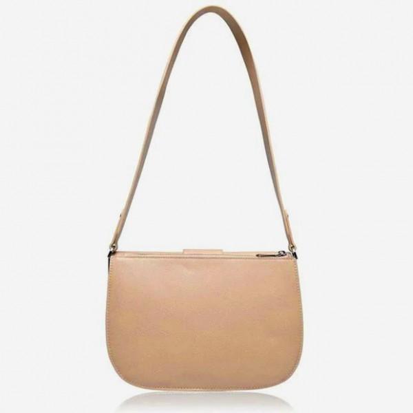 Manhattan Maxi Crossbody Bag Νatural