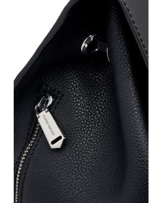 Chelsey Leather Backpack Black