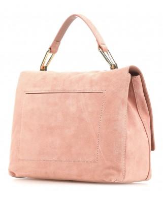 Suede δερμάτινη τσάντα χειρός Liya