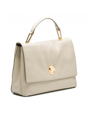 Liya Leather Medium Handbag
