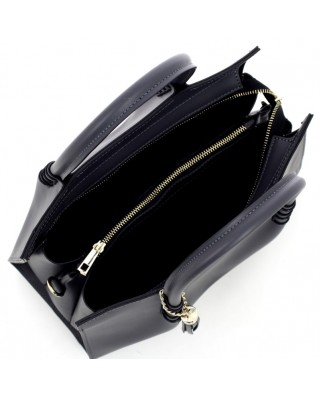 Miranda Leather Handbag Black