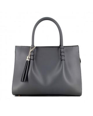 Miranda Leather Handbag Black