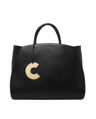 Concrete Maxi Handbag Black
