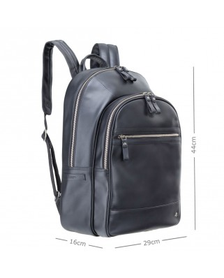 "Tank 13"" Leather Backpack"