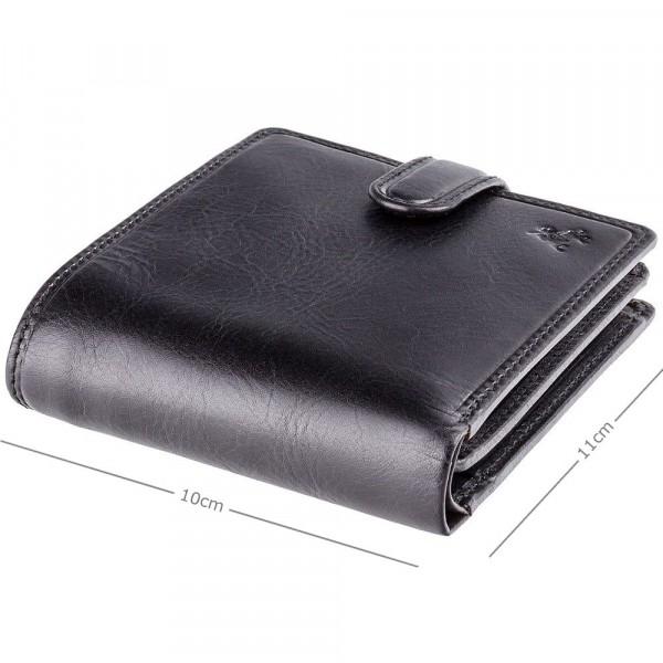 Arezzo Cash & Coin Wallet Black
