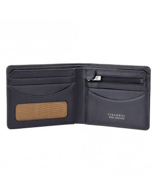 Francesca Cash & Coin Wallet Black