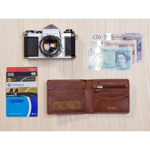 Francesca Cash & Coin Wallet Tan