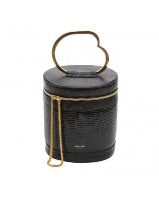 Clara Top Handle Bag- MA-CLA-BLC