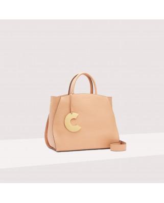 Concrete Medium Handbag - E1ILA180101N70