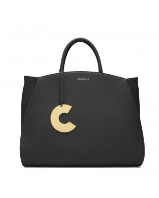 Concrete Maxi Handbag Black - E1ILA180201001