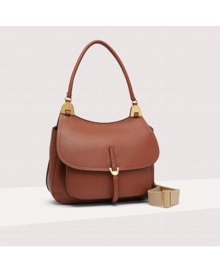 Fauve Leather Bag - E1G00-120101-W03