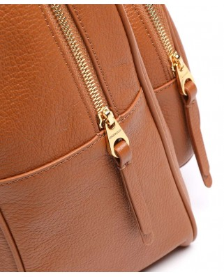 Lea large leather backpack - E1I60140201΅W03