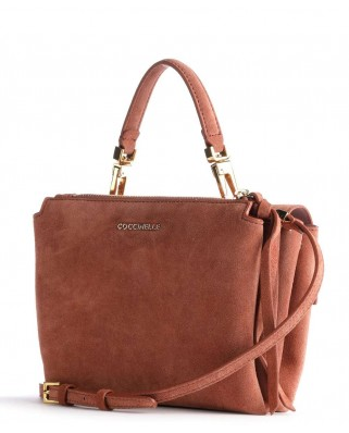 Arlettis Mini suede marsala leather - E1GD6-55B701