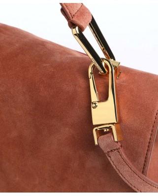 Liya Suede Medium Handbag - E1ID1180101R50