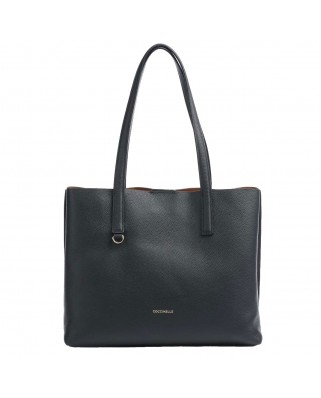 Matinee leather shopper - E1IJA110101919