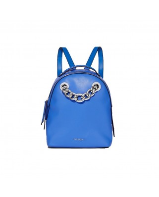 Anouk Chain Backpack blue