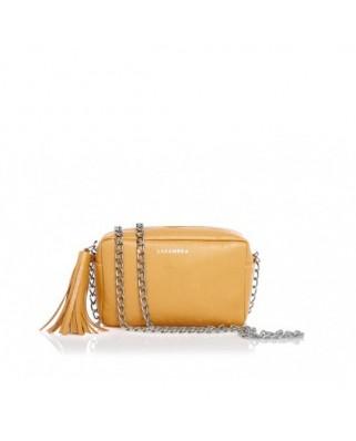 Δερμάτινη Τσάντα Mini Chic Amber